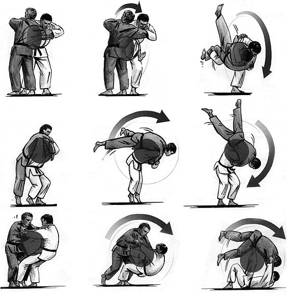 Картинки дзюдоистов